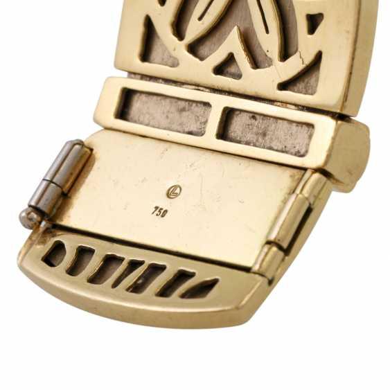 PFANDAUKTION - Armband with princess diamonds 3.65 ct, - photo 4