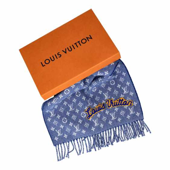 PENDANT AUCTION - Louis Vuitton Scarf, NP: 550 € Deposit number 18355, - photo 3