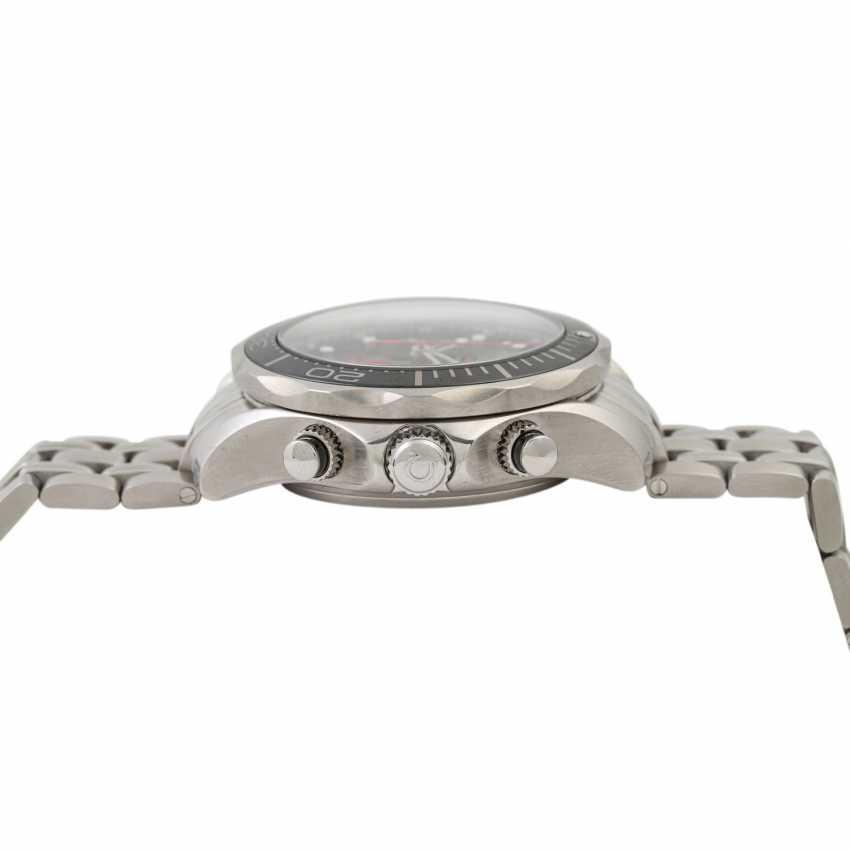 PFANDAUKTION - Omega Seamaster Diver 300m Chronograph Box Watchma - photo 3