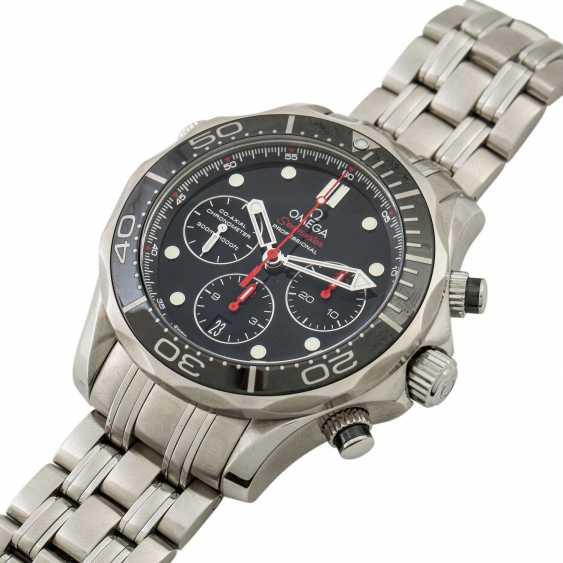PFANDAUKTION - Omega Seamaster Diver 300m Chronograph Box Watchma - photo 4