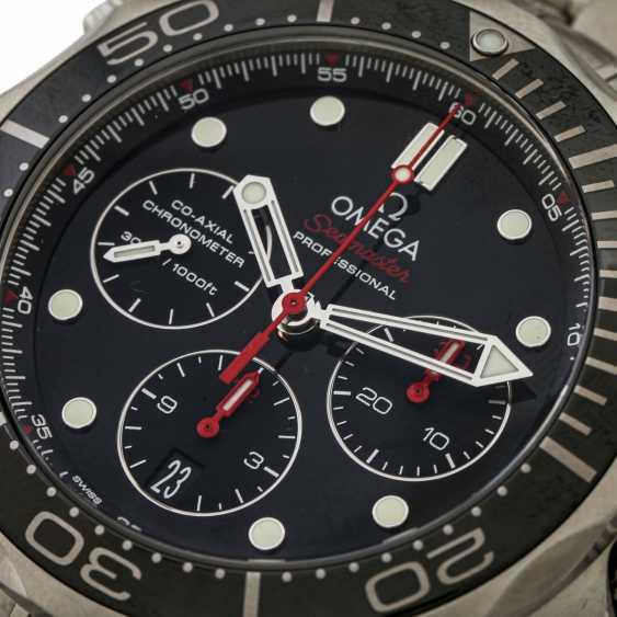 PFANDAUKTION - Omega Seamaster Diver 300m Chronograph Box Watchma - photo 5