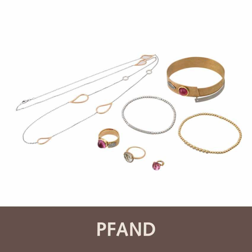 PLAFF AUCTION - 2 bracelets Brill Al Coro 1 bangle 1 ring Brill - photo 1