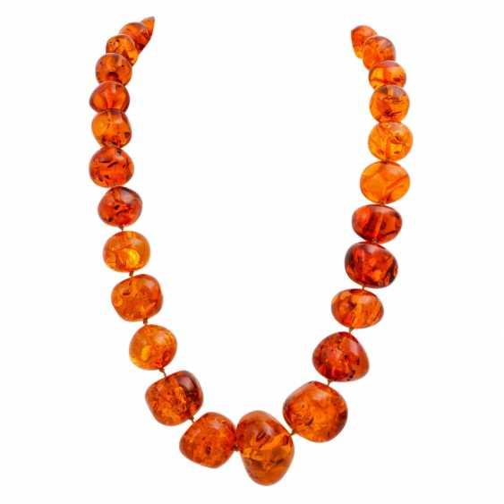 Mixed lot of amber jewelry - photo 2