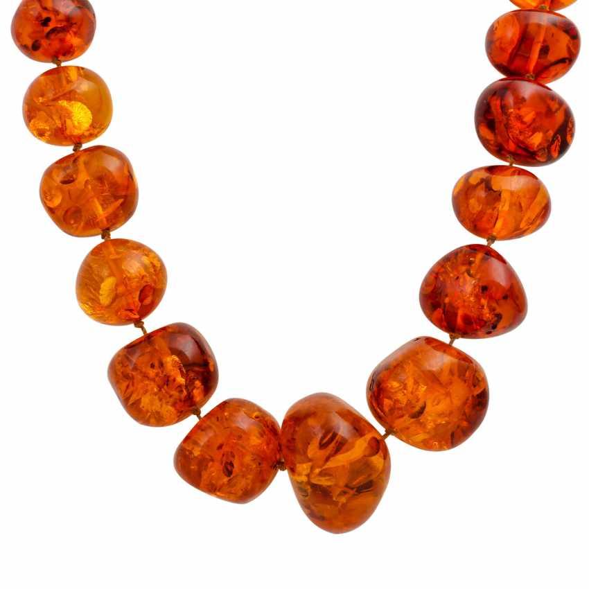 Mixed lot of amber jewelry - photo 3