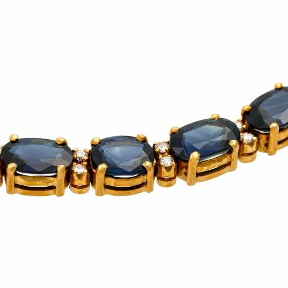 Collier with sapphires together approx. 35 ct - photo 5