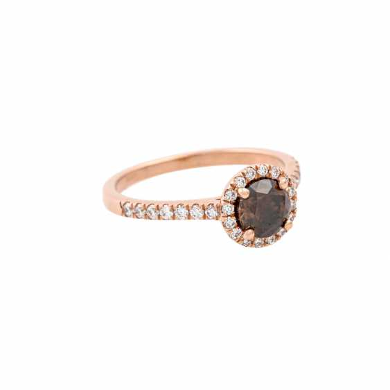 Ring with a diamond of 1 ct - photo 1