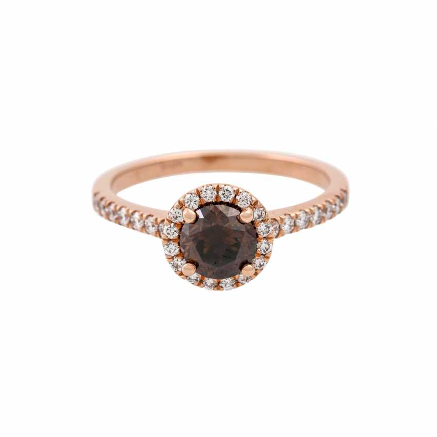 Ring with a diamond of 1 ct - photo 2