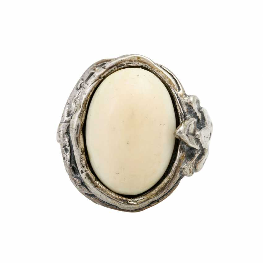 Ivory jewelry set around 1900, - photo 4