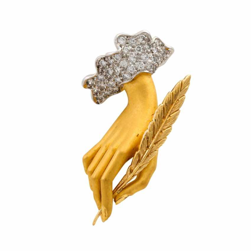 "CARRERA Y CARRERA pendant ""hand"" with diamonds - photo 1"