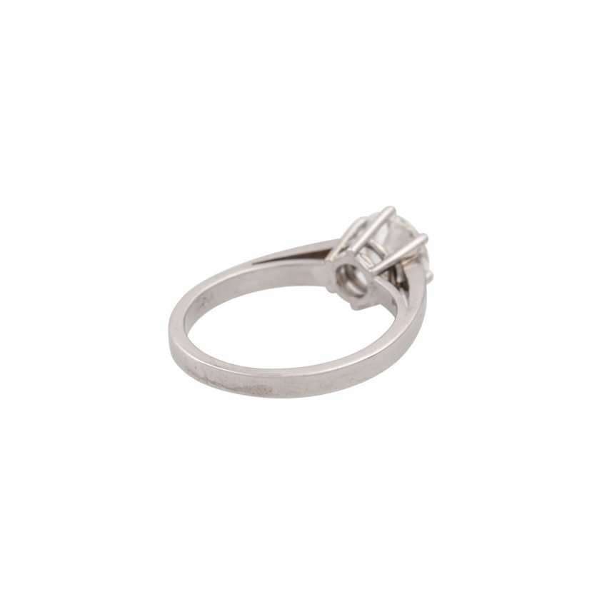 SCHOTT solitaire ring with brilliant approx. 1.4 ct, - photo 3