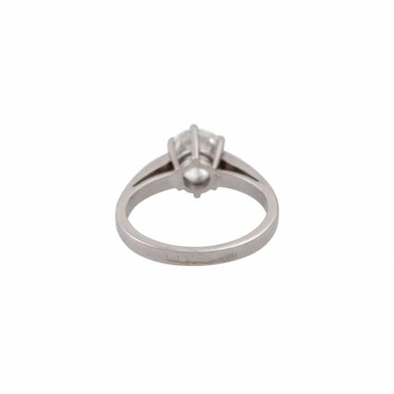 SCHOTT solitaire ring with brilliant approx. 1.4 ct, - photo 4