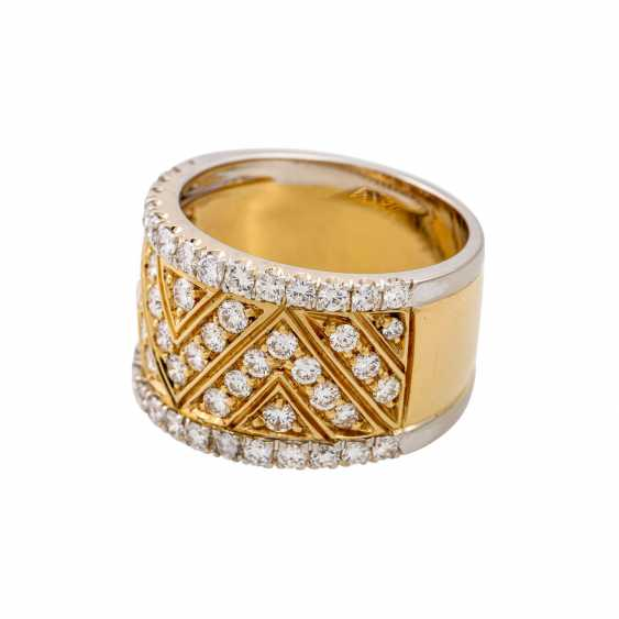 Ring with diamonds totaling approx. 1.2 ct, - photo 5