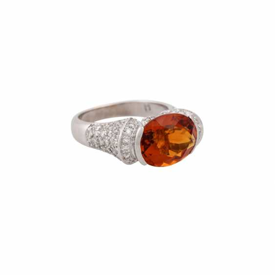 Ring with citrine approx. 4 ct - photo 1