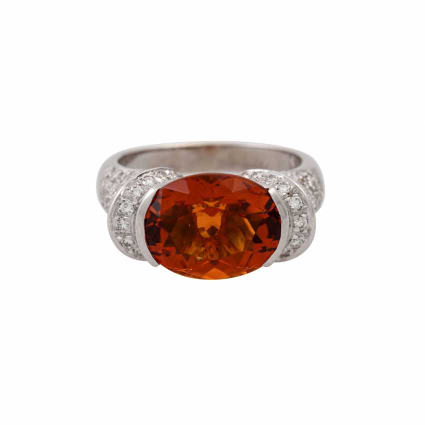 Ring with citrine approx. 4 ct - photo 2