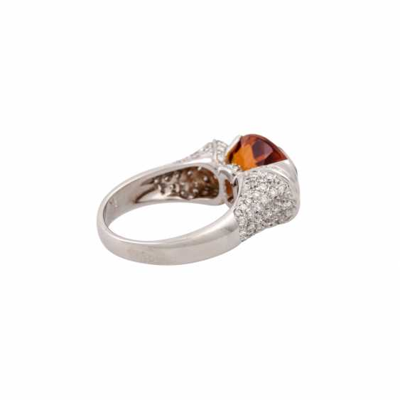 Ring with citrine approx. 4 ct - photo 3