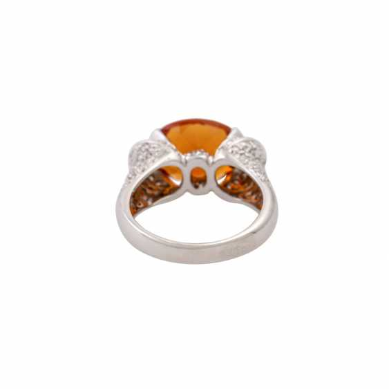 Ring with citrine approx. 4 ct - photo 4