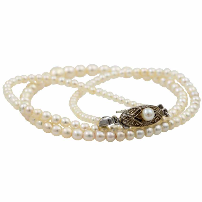 Bracelet with diamonds totaling approx 1.7 ct, - photo 6