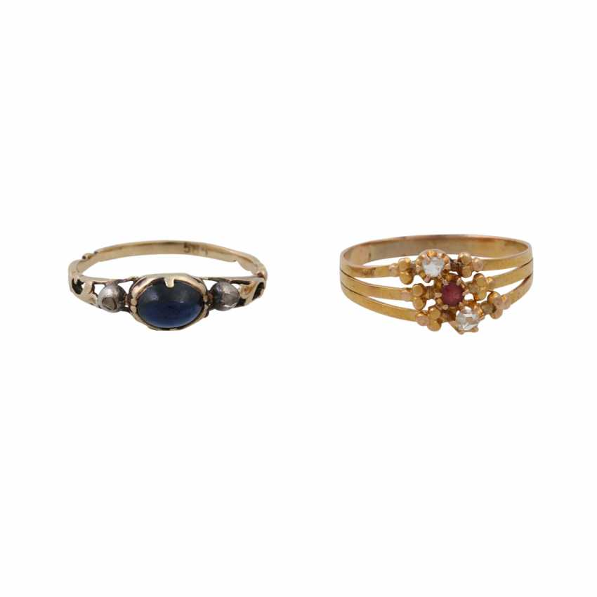 Lot of 2 antique rings - photo 2