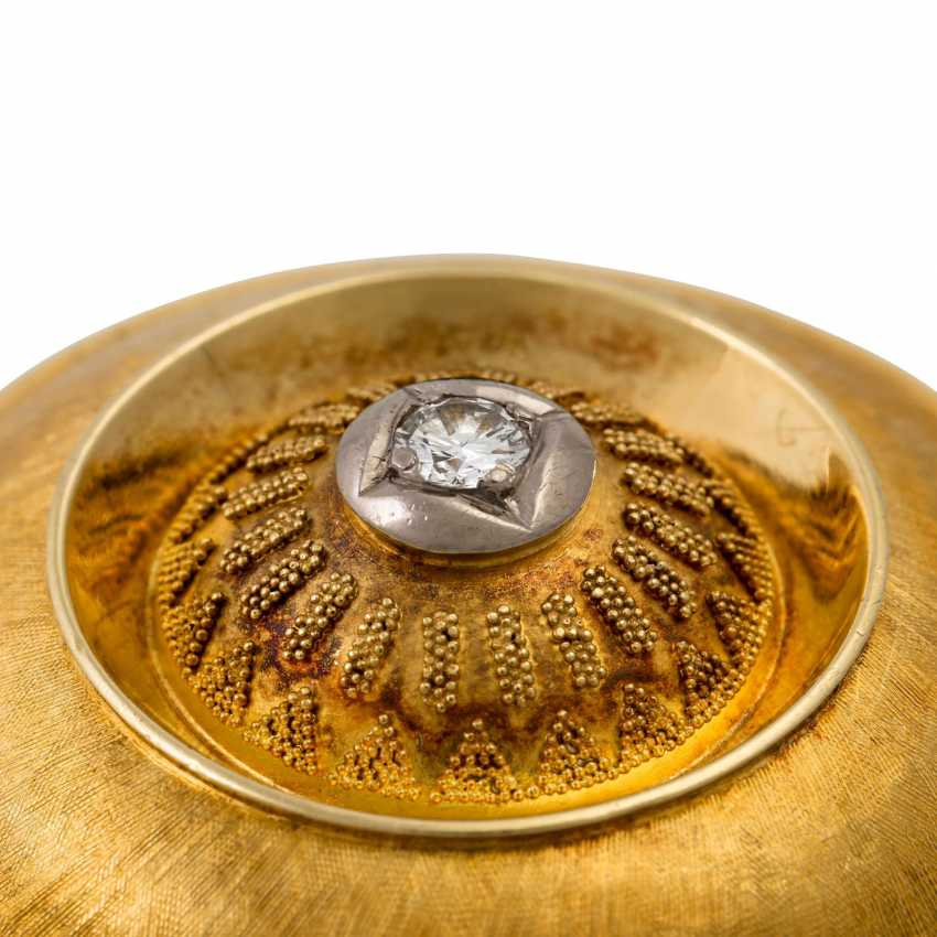 Pendant / brooch with a diamond of approx. 0.2 ct, - photo 4