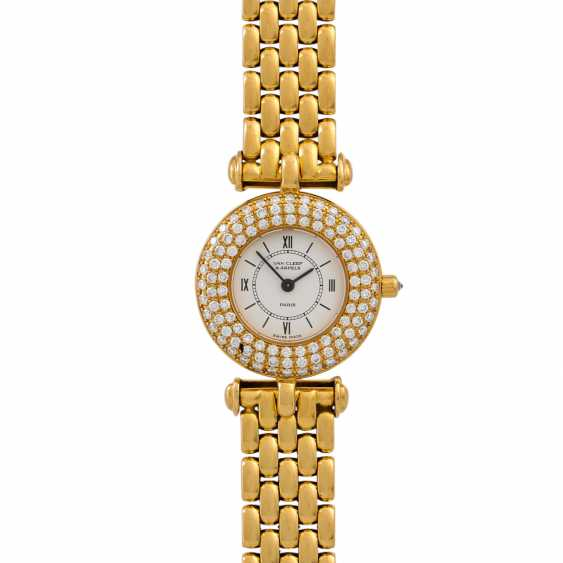 VAN CLEEF & ARPELS Vintage Damenuhr, Ref. 18641. - photo 3