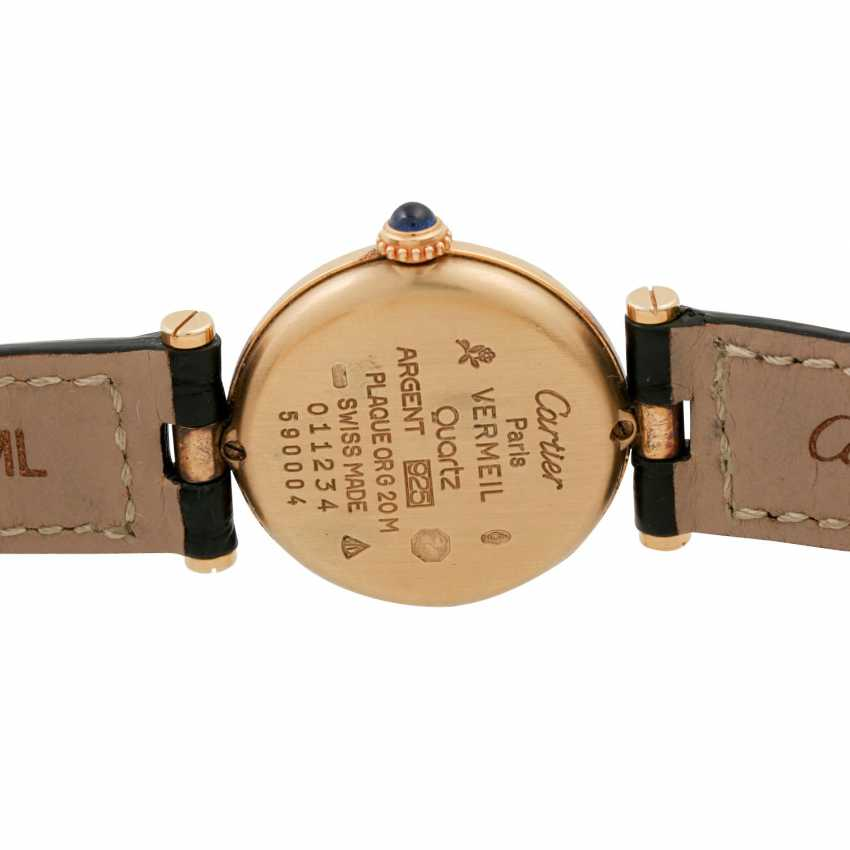 CARTIER Must de Cartier, Ref. 590004. Ladies watch. - photo 2