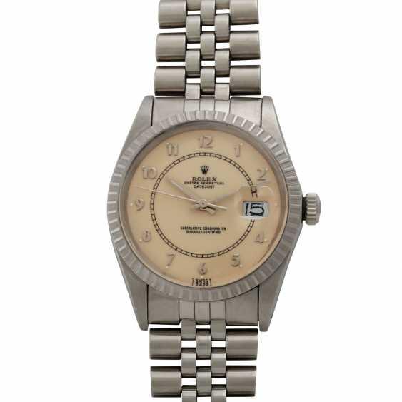 """ROLEX Vintage Datejust """"Stella Boiler Gauge"""", Ref. 16030. Men's watch, 1980s. - photo 1"""