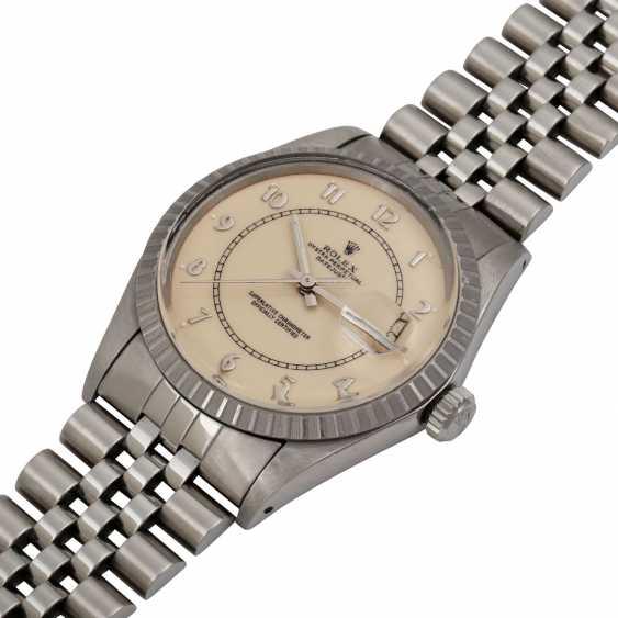 """ROLEX Vintage Datejust """"Stella Boiler Gauge"""", Ref. 16030. Men's watch, 1980s. - photo 4"""