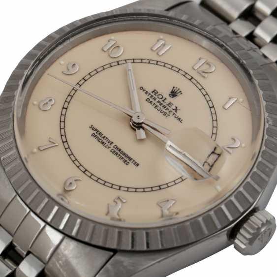 """ROLEX Vintage Datejust """"Stella Boiler Gauge"""", Ref. 16030. Men's watch, 1980s. - photo 5"""