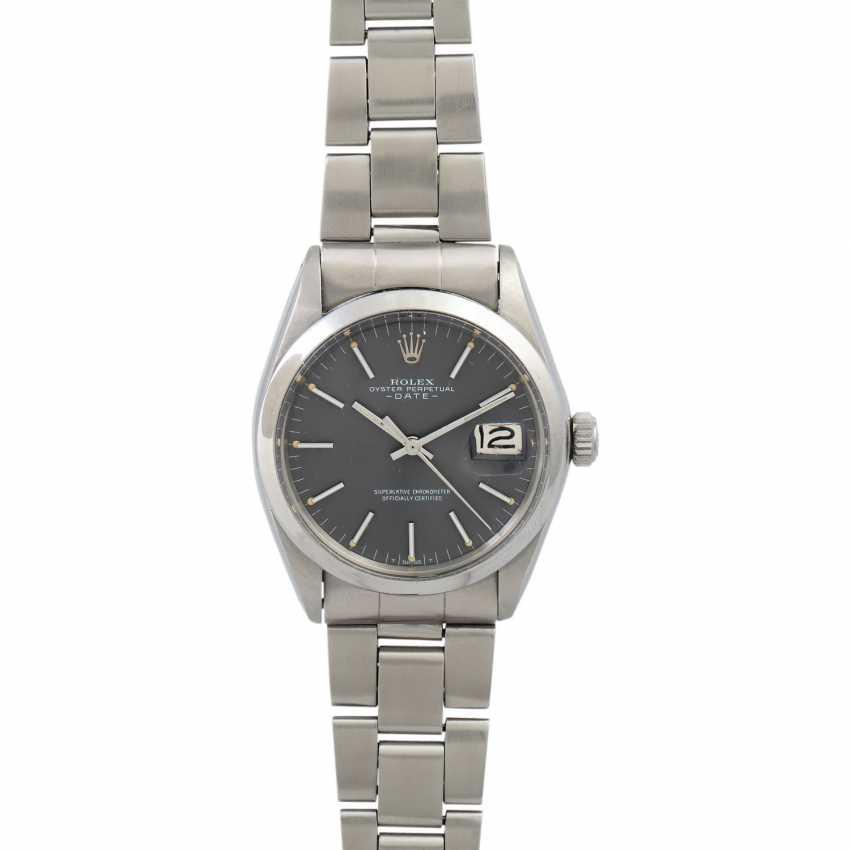 ROLEX Date, Ref. 1500. Wristwatch. - photo 1