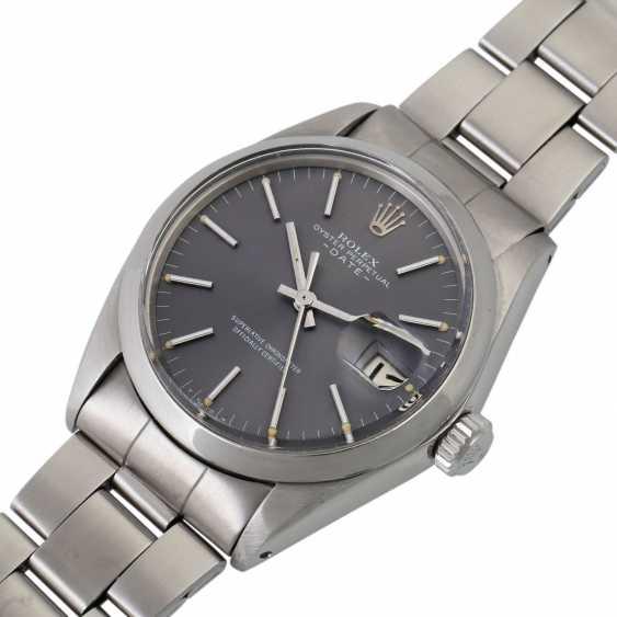 ROLEX Date, Ref. 1500. Wristwatch. - photo 4