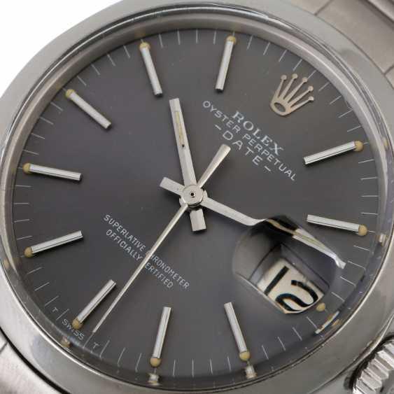 ROLEX Date, Ref. 1500. Wristwatch. - photo 5