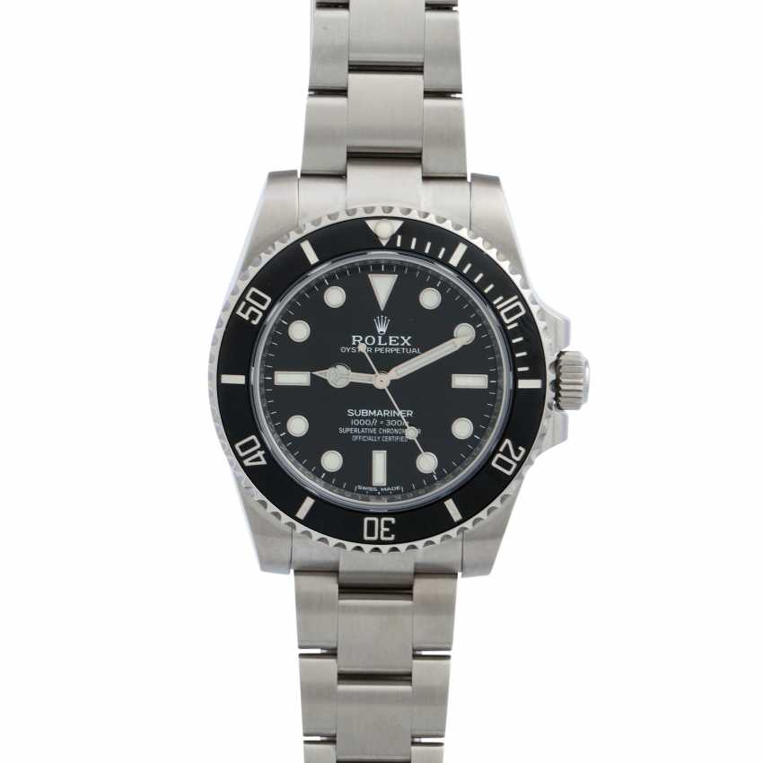 ROLEX Submariner No Date, Ref. 114060. Wristwatch. - photo 1