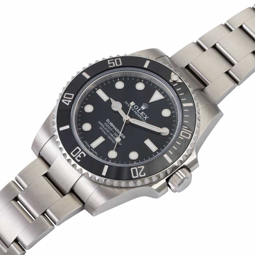 ROLEX Submariner No Date, Ref. 114060. Wristwatch. - photo 4