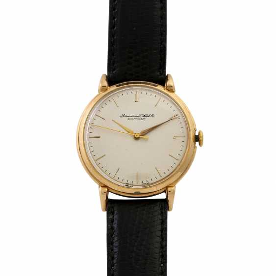INTERNATIONAL WATCH COMPANY Vintage men's watch. 1950s. - photo 1