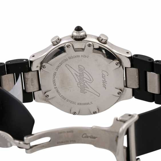 CARTIER 21 Chronoscaph, Ref. 2424. Men's watch. - photo 2