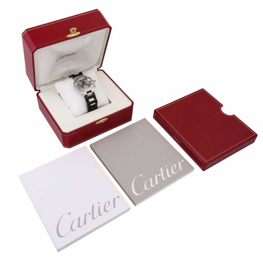 CARTIER 21 Chronoscaph, Ref. 2424. Men's watch. - photo 5