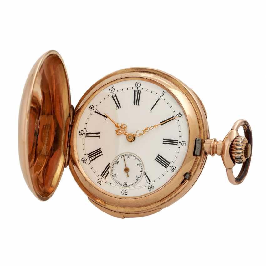 VINTAGE quarter-hour repeater pocket watch. - photo 1