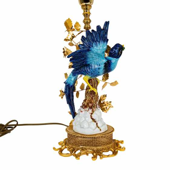 ITALY Pair of table lamps with bird figures, 20th century - photo 2