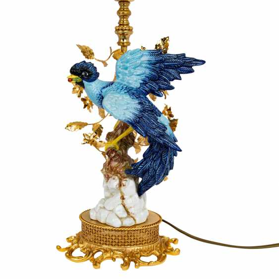 ITALY Pair of table lamps with bird figures, 20th century - photo 3