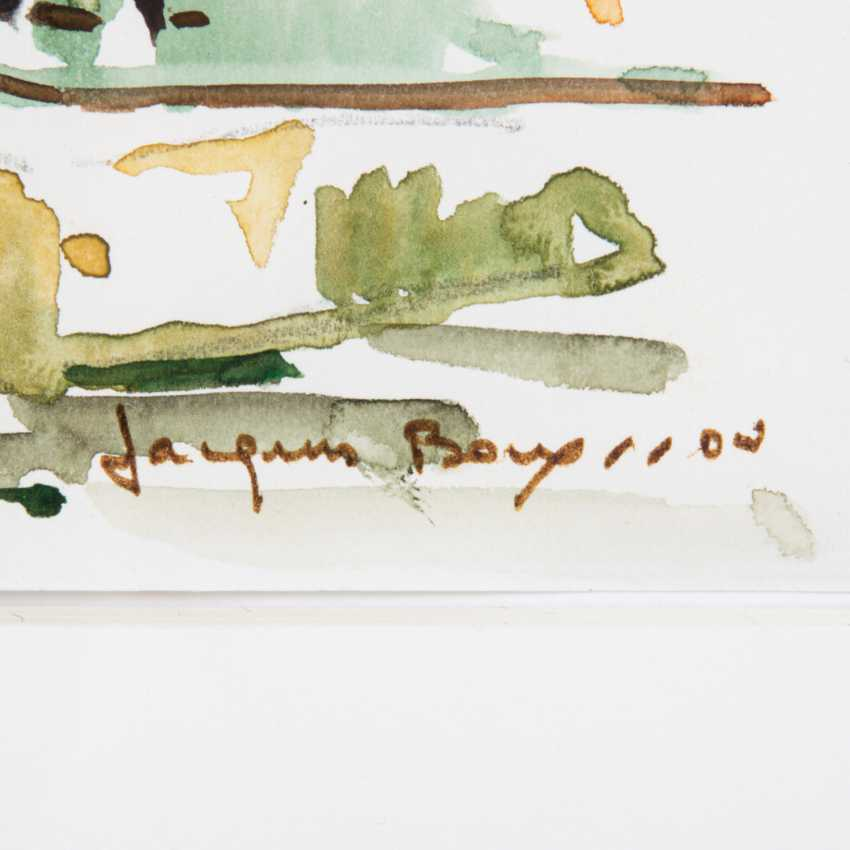 """BOUYSSOU, JACQUES (La Rivière St. Sauveur 1926-1997 Maisons Laffitte), """"Esslingen"""", - photo 3"""