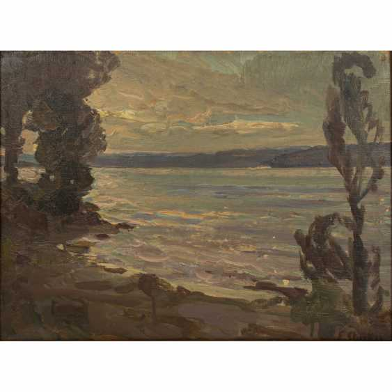 "STARKER, ERWIN (1872-1938), ""Lake Constance near Staad"", - photo 1"