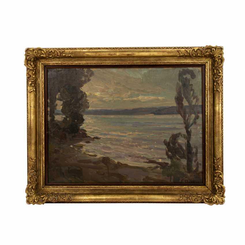 "STARKER, ERWIN (1872-1938), ""Lake Constance near Staad"", - photo 2"