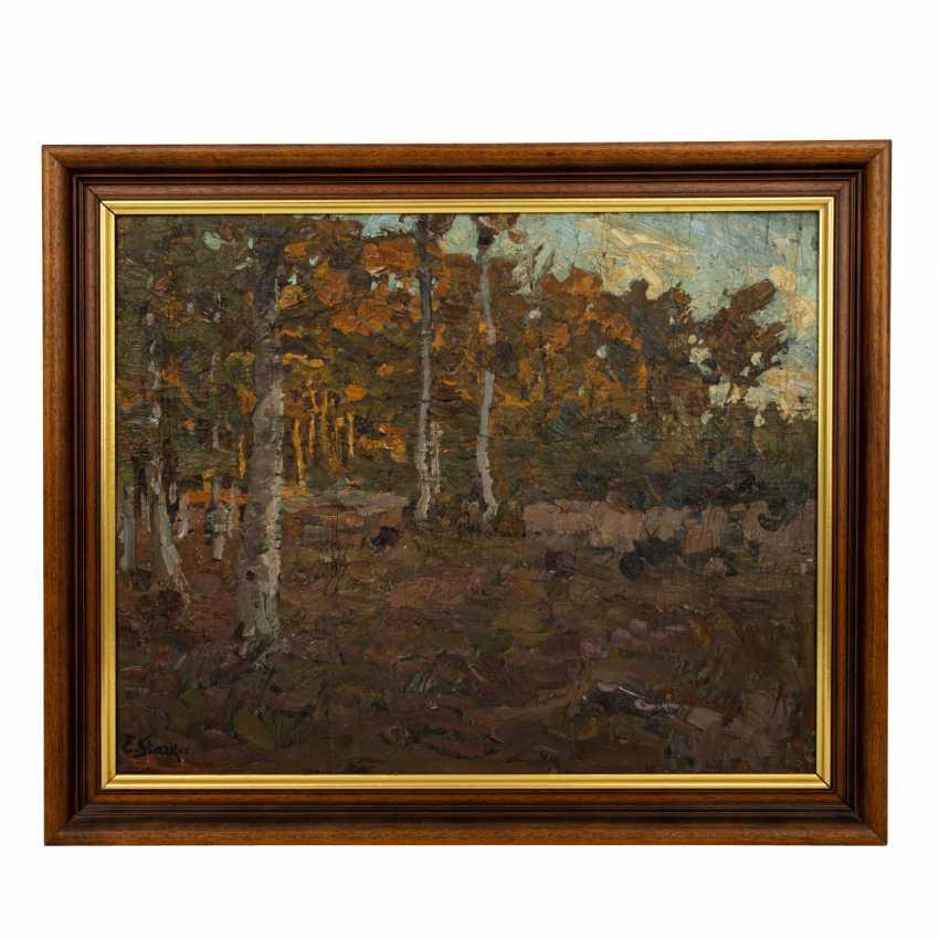 """STARKER, ERWIN (1872-1938), """"Autumn forest edge near Stuttgart"""", - photo 2"""