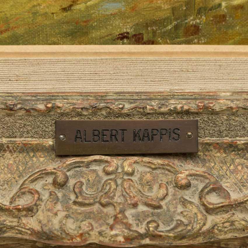 "KAPPIS, ALBERT (Wildberg / Nagold 1836-1914 Stuttgart), ""Rest at the hay harvest"", - photo 3"
