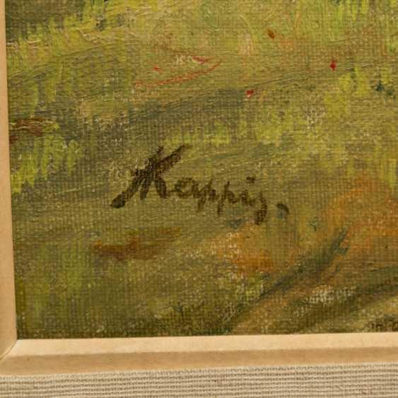 "KAPPIS, ALBERT (Wildberg / Nagold 1836-1914 Stuttgart), ""Rest at the hay harvest"", - photo 4"