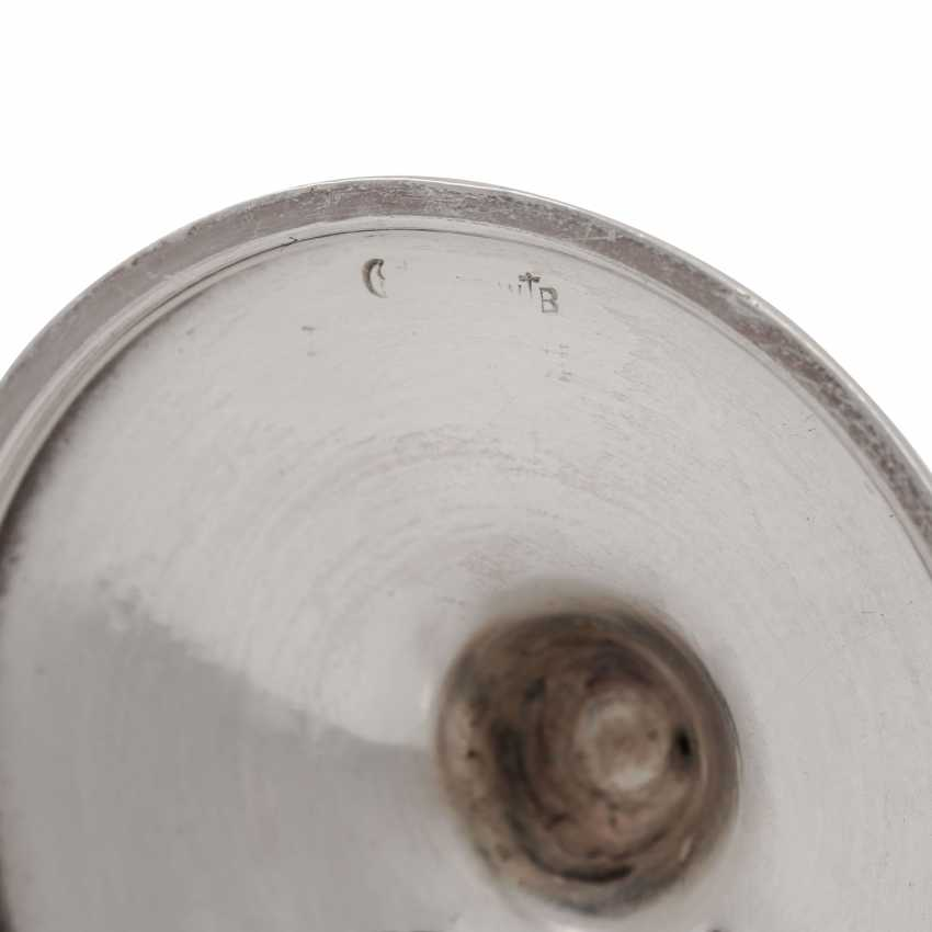 KOCH & BERGFELD / WILHELM BINDER 4 stamperl, 800 silver, 20th century - photo 5