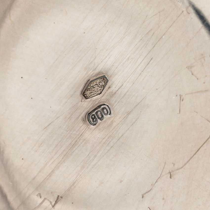 ITALY 3-piece mocha maker, 800 silver, 20th century - photo 6