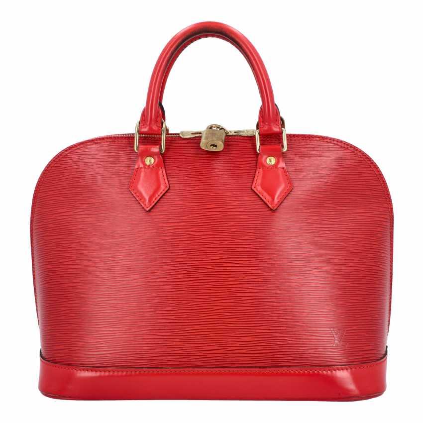 "LOUIS VUITTON handle bag ""ALMA PM"", collection: 2002. - photo 1"