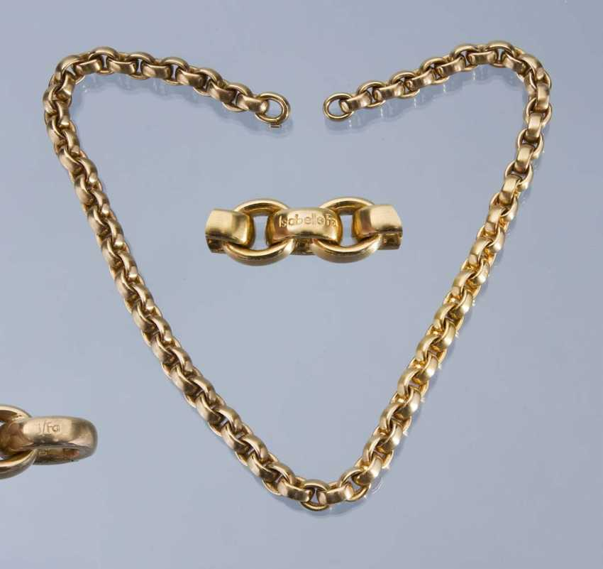 Exclusive Designer Gold necklace Is - photo 1