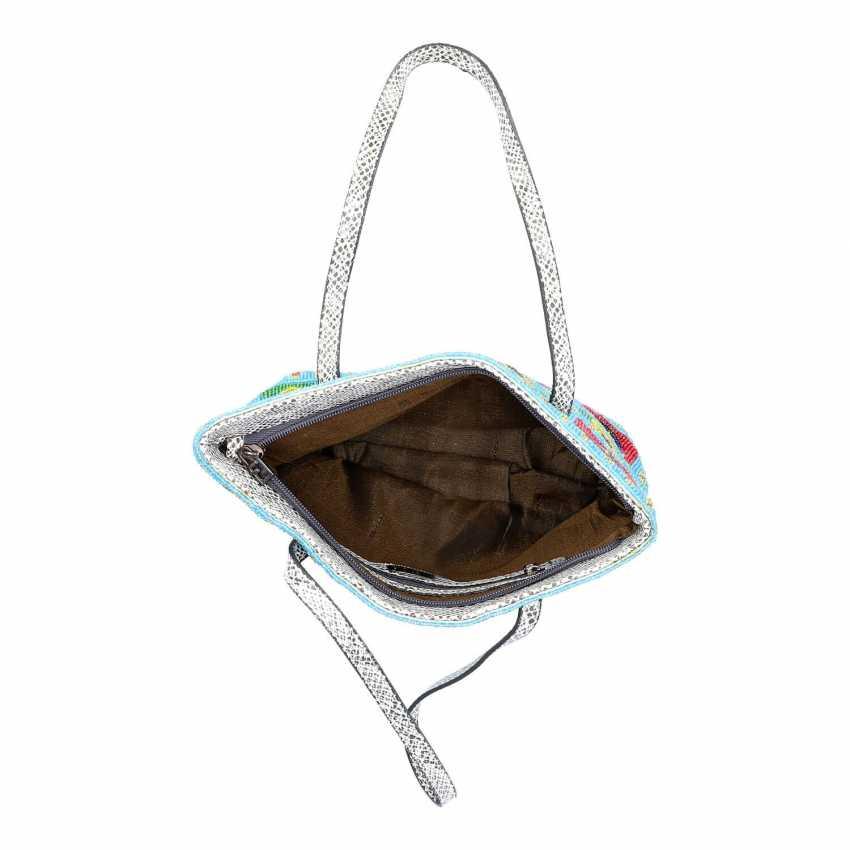 FENDI VINTAGE pearl bag. - photo 6